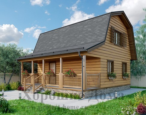 Каркасные дома в Днепре EURO HOUSE